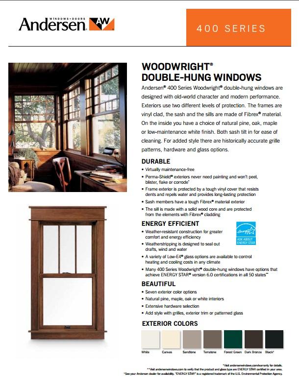 Andersen Replacement Windows Keystone Window Of Pennsylvania
