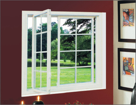 2-lite White Slider Window