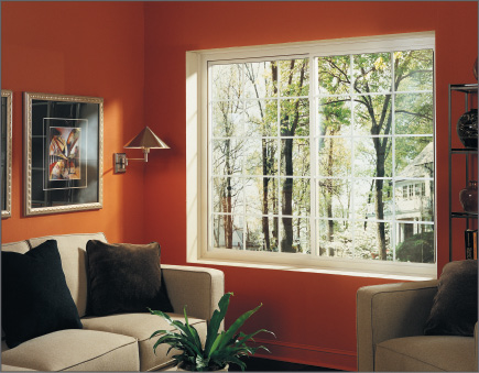 White 2-lite Slider Window