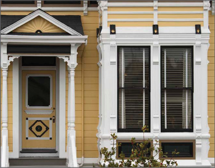 Double Hung Windows with Black Exterior