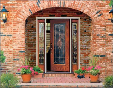 Woodgrain Fiber-Classic Entry Door